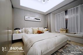 质朴82平北欧三居卧室设计效果图三居北欧极简家装装修案例效果图