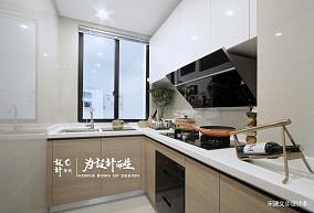 温馨110平北欧三居厨房装潢图三居北欧极简家装装修案例效果图
