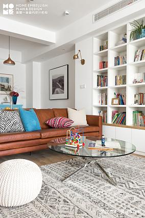 精美96平北欧四居客厅设计图四居及以上北欧极简家装装修案例效果图