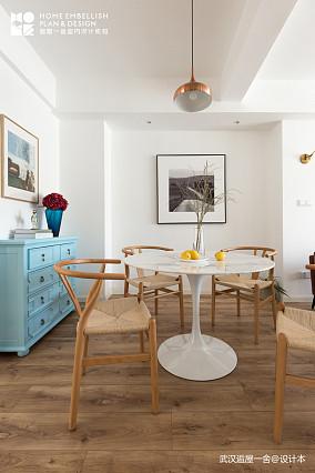 优美150平北欧四居餐厅装修设计图四居及以上北欧极简家装装修案例效果图
