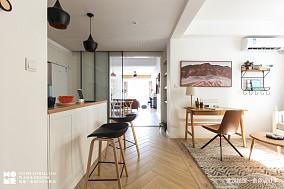 大气144平北欧四居厨房设计美图四居及以上北欧极简家装装修案例效果图