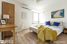 轻奢94平北欧四居卧室设计美图四居及以上北欧极简家装装修案例效果图