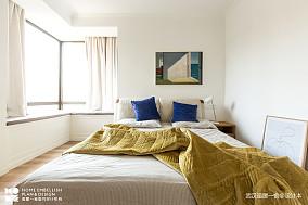 悠雅97平北欧四居卧室装修图四居及以上北欧极简家装装修案例效果图