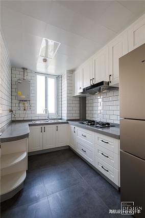 优雅107平北欧三居厨房效果图片大全
