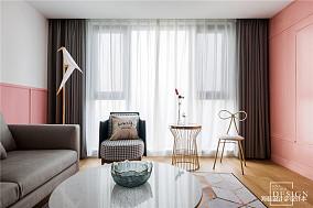 精致113平北欧三居客厅实景图片