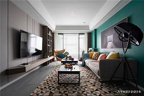 浪漫51平北欧二居客厅设计案例