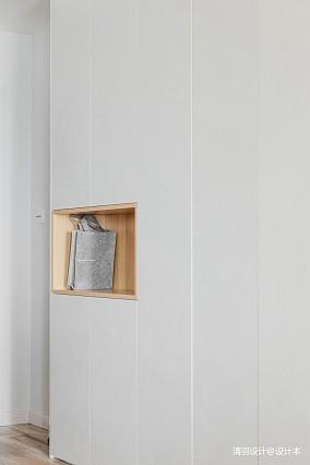 华丽73平简约二居玄关效果图二居现代简约家装装修案例效果图