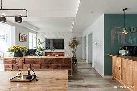 精美67平简约二居餐厅装修装饰图二居现代简约家装装修案例效果图