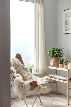 华丽83平简约二居休闲区案例图二居现代简约家装装修案例效果图