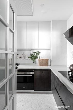 优雅56平简约二居实景图二居现代简约家装装修案例效果图