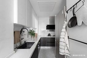 简洁53平简约二居厨房美图二居现代简约家装装修案例效果图