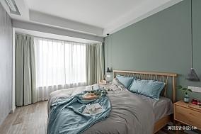 简洁67平简约二居卧室装修图二居现代简约家装装修案例效果图