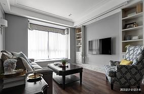 精美98平简约三居图片欣赏三居现代简约家装装修案例效果图