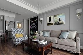 优美81平简约三居客厅布置图三居现代简约家装装修案例效果图