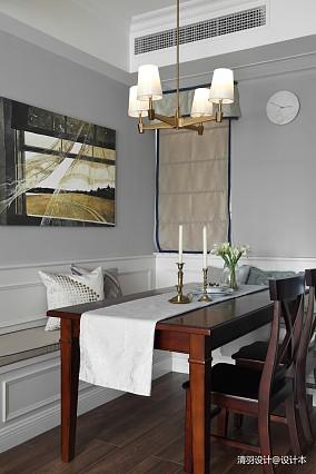 精致72平简约三居餐厅效果图欣赏三居现代简约家装装修案例效果图