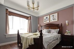 浪漫90平简约三居卧室案例图三居现代简约家装装修案例效果图