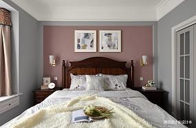 平简约三居卧室装修效果图三居现代简约家装装修案例效果图