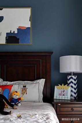 精美102平简约三居卧室设计图三居现代简约家装装修案例效果图