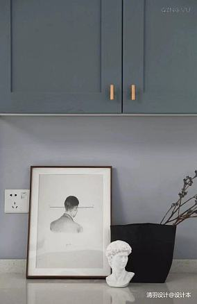优美91平简约三居案例图三居现代简约家装装修案例效果图