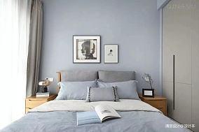 轻奢112平简约三居卧室设计美图三居现代简约家装装修案例效果图