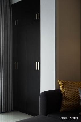 浪漫93平现代三居客厅装修案例