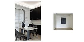 温馨71平现代三居餐厅装饰图