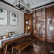 华丽513平中式别墅书房设计美图