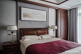 温馨651平中式别墅卧室装修案例