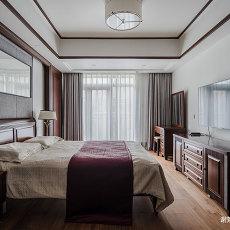 明亮673平中式别墅卧室装修装饰图