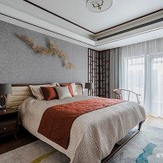 优美445平中式别墅卧室实拍图