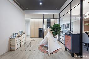 精致117平简约四居设计案例四居及以上现代简约家装装修案例效果图