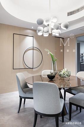 精美150平简约四居餐厅装修图片四居及以上现代简约家装装修案例效果图