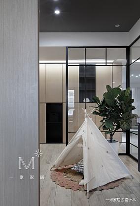 华丽106平简约四居装饰图片四居及以上现代简约家装装修案例效果图