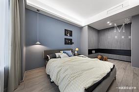 温馨124平简约四居卧室设计美图四居及以上现代简约家装装修案例效果图