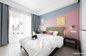 优雅128平简约四居儿童房效果图欣赏四居及以上现代简约家装装修案例效果图
