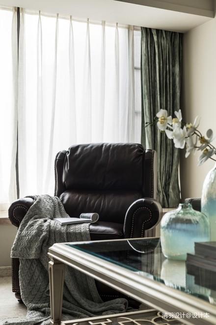 温馨124平简欧三居客厅装修图