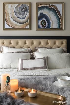 精致122平简欧三居卧室装修装饰图