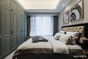 明亮90平简欧三居卧室设计案例