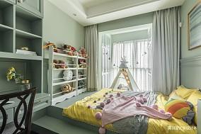 明亮112平简欧三居儿童房装饰美图