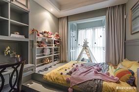 温馨79平简欧三居儿童房效果图欣赏