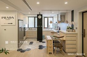 大气61平北欧二居厨房设计美图二居北欧极简家装装修案例效果图
