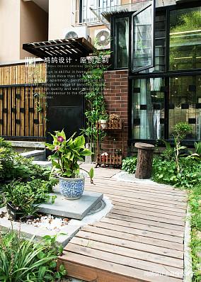 优雅59平北欧二居花园图片大全二居北欧极简家装装修案例效果图
