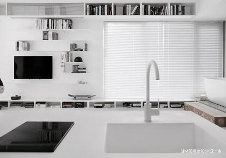 浪漫38平现代小户型客厅装修设计图