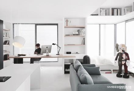 温馨40平现代小户型客厅装饰图片
