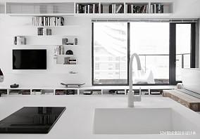 优美22平现代小户型客厅设计案例