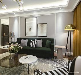温馨170平混搭四居客厅装修图片