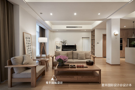 日式北欧客厅图片复式日式家装装修案例效果图