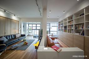 优美92平日式二居书房装饰美图