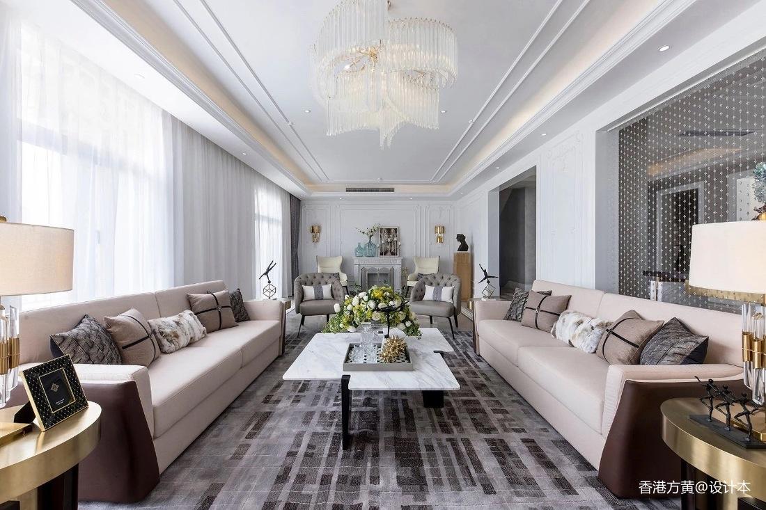 浪漫894平法式别墅客厅装潢图客厅欧式豪华客厅设计图片赏析
