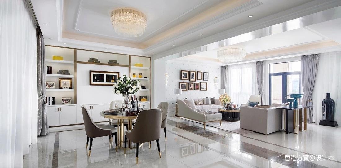 简洁319平法式别墅客厅装修设计图客厅欧式豪华客厅设计图片赏析
